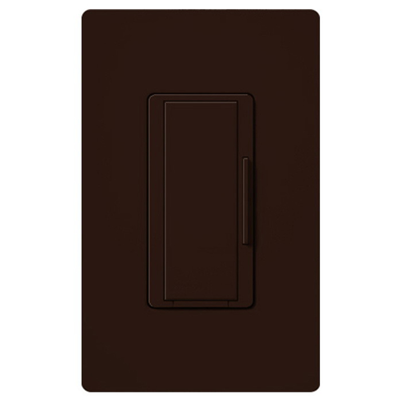 Lutron MA-R-BR Maestro® Companion Tap On/Off Dimmer Switch; 120 Volt AC, Brown