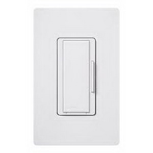 Lutron MA-RH-WH Maestro® Companion Tap On/Off Dimmer Switch; 120 Volt AC, White