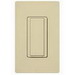 Lutron MRF2-6ANS-IV Maestro Wireless® Digital Switch with RF Receiver; 1-Pole, 120 Volt AC, 6 Amp Light, 3 Amp Fan, Gloss, Ivory