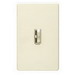 Lutron AYFSQ-F-LA Ariadni® Quiet Three Speed Fan Control; 120 Volt AC, 1.5 Amp, Single Pole/Three Way, Toggle Switch, Preset On/Off, Light Almond