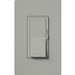Lutron DVCL-153P-GR Diva® C.L™ Single Pole 3-Way Preset Slide Dimmer with Paddle On/Off Switch; 120 Volt AC, 600/150 Watt, CFL/LED/Incandescent/Halogen, Gray
