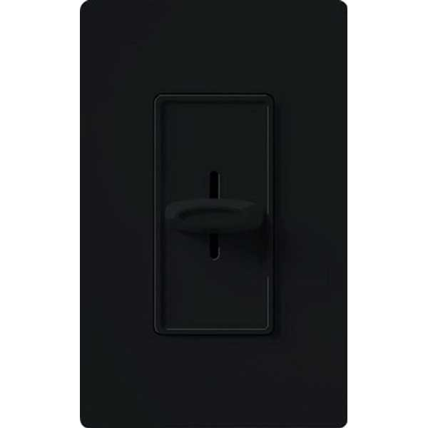 Lutron SFS-5E-BL Skylark Contour&reg Fully Variable Fan Speed Control 120 Volt AC  5 Amp  Single Pole  Rocker Switch Slide On/Off  Black