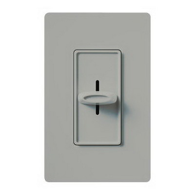 Lutron SFSQ-F-GR Skylark Contour&reg Quiet Three Speed Fan Control 120 Volt AC  1.5 Amp  Single Pole  Decorator Slide Switch On/Off  Gray