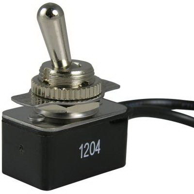 Gardner Bender GSW-18 Toggle Switch 1-Pole  SPST  125/250/125 Volt AC  8/4/10 Amp