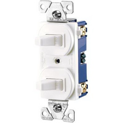 "cooper wiring 275w box arrow hartâ""¢ 3 way duplex combination switch cooper wiring 275w box arrow hartâ""¢ 3 way duplex combination switch 120 277 volt ac 15 amp 1 pole white"