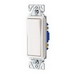 Cooper Wiring 7503W 3-Way Decorator Standard Switch; 120/277 Volt AC, 15 Amp, White