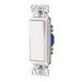 Cooper Wiring 7501W Decorator Standard Switch; 1-Pole, 120/277 Volt AC, 15 Amp, White