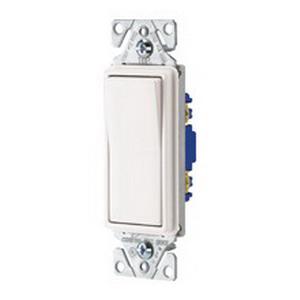 Cooper Wiring 7504W-BOX 4-Way Decorator Standard Switch; 120/277 Volt AC, 15 Amp, White