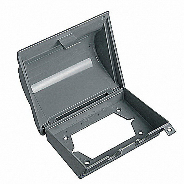 Carlon E9UHGRN2 In-Use Standard 1-Gang Weatherproof Cover; Box/Device Mount, Polycarbonate, Gray