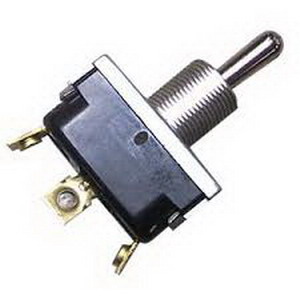McGill 01210001N 0121 Series Multi-Pole Toggle Switch; 2-Pole, DPST, 125 Volt, 15 Amp
