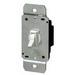 Leviton 6641-W Single Pole Electro-Mechanical Toggle Dimmer Switch; 120 Volt AC, 600 Watt, Incandescent, White