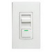 Leviton IP710-DLZ IllumaTech Single Pole 3-Way Electro-Mechanical Preset Slide Dimmer; 120/277 Volt AC, 1200 Watt, Fluorescent/LED, White