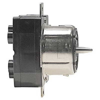 Leviton CS6369 #2CD Locking Receptacle; 50 Amp, 125/250 Volt, 3-Pole, 4-Wire, Set-Screw, Black