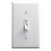 Leviton TGI06-1LW Single Pole 3-Way Preset Digital Toggle Dimmer Switch; 120 Volt AC, 600 Watt, Incandescent/LED, White