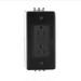 Leviton N7599-DIN SmartlockPro® Duplex Outlet GFCI Receptacle; DIN Rail Mount, 125 Volt AC, 15 Amp, 2-Pole, 3-Wire, NEMA 5-15R, Black