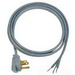 Carol 04106.73.10 SPT-3 Power Supply Replacement Cord; 16/3 AWG, 6 ft, 13 Amp, 125 Volt, Right Angle plug, PVC Jacket, Gray
