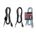 Carol 02547.70.01 SJT Power Supply Replacement Cord; 16/3 AWG, 6 ft, 13 Amp, 125 Volt, Straight plug, PVC Jacket, Black