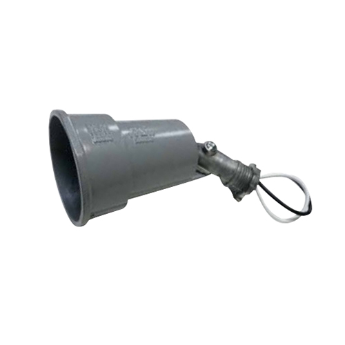 Mulberry 30010 Outdoor Lampholder; 75 - 150 Watt, 1/2 Inch NPT Threaded Arm Mount, Aluminum