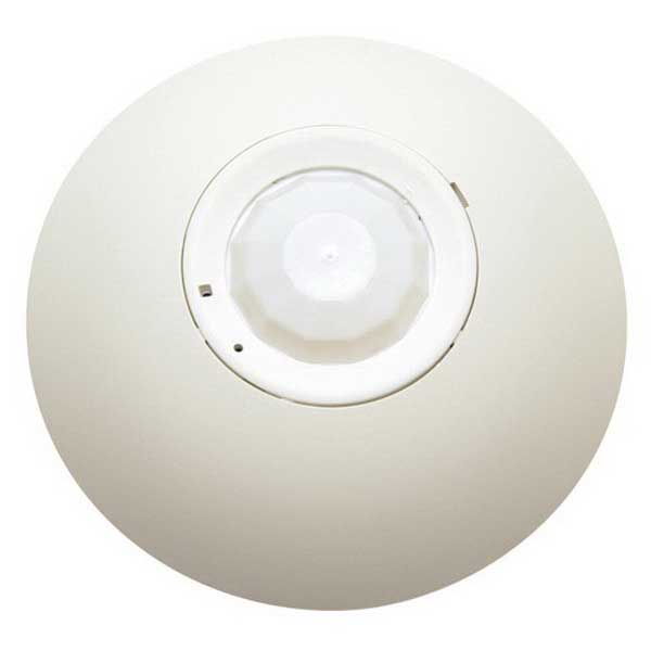 Hubbell Automation OMNIIRL OMNI™ IntelliDAPT® Passive Infrared Sensor; 24 Volt DC, 1500 Sq ft, Off White, Ceiling Mount