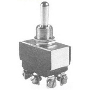 Selecta Switch SS208P-BG Toggle Switch; 2-Pole, DPDT, 125/250 Volt AC, 15/10 Amp