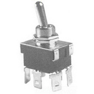 Selecta Switch SS118-BG Toggle Switch; 2-Pole, DPDT, 125/250 Volt AC, 20/10 Amp