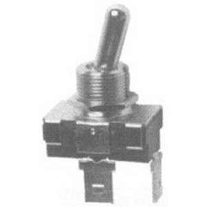 Selecta Switch SS1210-BG Appliance Rocker Switch 1-Pole  SPST  125/250 Volt AC  16/10 Amp  Black Base  Transparent Red Rocker  Black Bezel