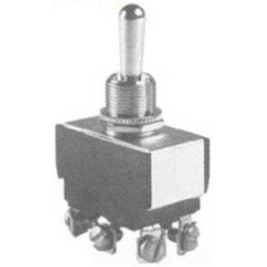 Selecta Switch SS208C-BG Toggle Switch; 2-Pole, DPDT, 125/250 Volt AC, 15/10 Amp
