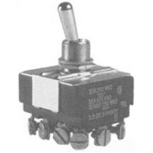 Selecta Switch SS220-BG Toggle Switch; 4-Pole, 4PDT, 125/250 Volt AC, 15/10 Amp