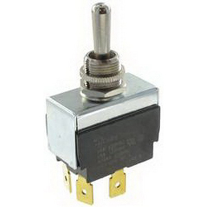 Selecta Switch 6GG5B-73 Toggle Switch; 1-Pole, SPST, 250 Volt AC, 15 Amp