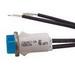 Selecta Switch SL53415-4-BK Indicator Light; Raised/Transparent Lens, 14 Volt AC/DC, Incandescent, Red
