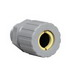 Hubbell Electrical / Killark ZS313CR Z Series Corrosion Resistant Straight Cord Connector; 1 Inch, Threaded x Compression, Nylon
