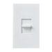 Lutron NTSTV-DV-WH Nova-T® Single Pole Small Control Fluorescent Slide-To-Off Dimmer; 0 - 10 Volt DC, White