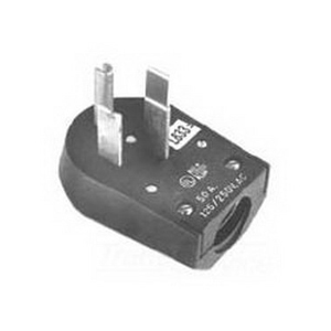 Midwest C53 Angle Plug; 50 Amp, 125/250 Volt, NEMA 10-50R