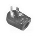 Midwest C54U Angle Plug; 50 Amp, 125/250 Volt, NEMA 14-50R