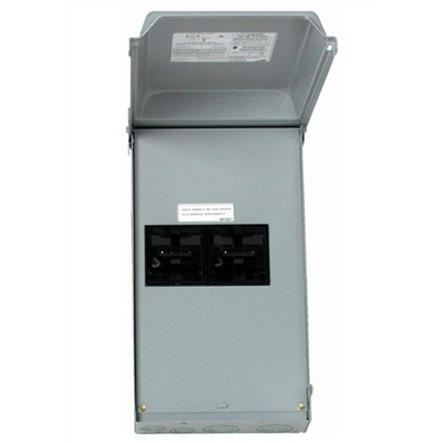 Midwest U610F Fusible Disconnect; 120/240 Volt, 100 Amp, 10 Kilo-Amp