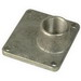 Midwest B20 Meter Socket Entry Metallic Rainproof Conduit/Plate Type Hub; 2 Inch, Bolt-On