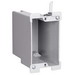 Pass & Seymour S122-W Quick/Click Slater 1-Gang Old Work Deep Switch and Outlet Box; Thermoplastic, Gray