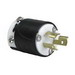 Pass & Seymour PSL715-P Turnlok® Locking Plug; 15 Amp, 277 Volt AC, 2-Pole, 3-Wire, NEMA L715, Black/White