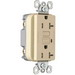 Pass & Seymour 2095-TRI Decorator Tamper-Resistant Specification Grade GFCI Rececptacle; 125 Volt, 20 Amp, 2-Pole, NEMA 5-20R, Ivory