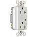 Pass & Seymour 2095-TRW Tamper-Resistant Specification Grade GFCI Receptacle; 125 Volt, 20 Amp, 2-Pole, NEMA 5-20R, White