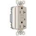Pass & Seymour 2095-TRLA Decorator Tamper-Resistant Specification Grade GFCI Rececptacle; 125 Volt, 20 Amp, 2-Pole, NEMA 5-20R, Light Almond