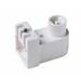 Pass & Seymour 464 Fluorescent Lampholder; 600 Volt, 660 Watt, Pedestal/Ceiling/Wall Mount, White