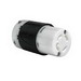 Pass & Seymour L1630-C Turnlok® Grounding Locking Connector; 30 Amp, 480 Volt AC, 2-Pole, 4-Wire, NEMA L1630R, Black/White