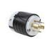 Pass & Seymour L1620-P Turnlok® Polarized Grounding Specification Grade Locking Plug; 20 Amp, 480 Volt AC, 2-Pole, 4-Wire, NEMA L16-20P, Black/White