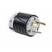 Pass & Seymour L530-P Turnlok® Single Polarized Grounding Specification Grade Locking Plug; 30 Amp, 125 Volt AC, 2-Pole, 3-Wire, NEMA L5-30P, Black/White