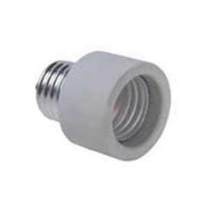 Pass & Seymour 2005 Socket Adapter; 250 Volt, Medium, White