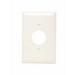 Pass & Seymour TPJ7-LA tradeMaster® Jumbo Size 1-Gang Single Receptacle Plate; Wall Mount, Nylon, Light Almond