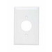 Pass & Seymour TPJ7-W tradeMaster® Jumbo Size 1-Gang Single Receptacle Plate; Wall Mount, Nylon, White