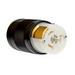 Pass & Seymour CS8164 Turnlok® California Standard Style Locking Connector; 50 Amp, 480 Volt AC, 3-Pole, 4-Wire, Black/White
