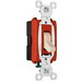 Pass & Seymour CSB20AC1-I Commercial Hard Use Construction Switch; 1-Pole, 120/277 Volt AC, 20 Amp, Ivory